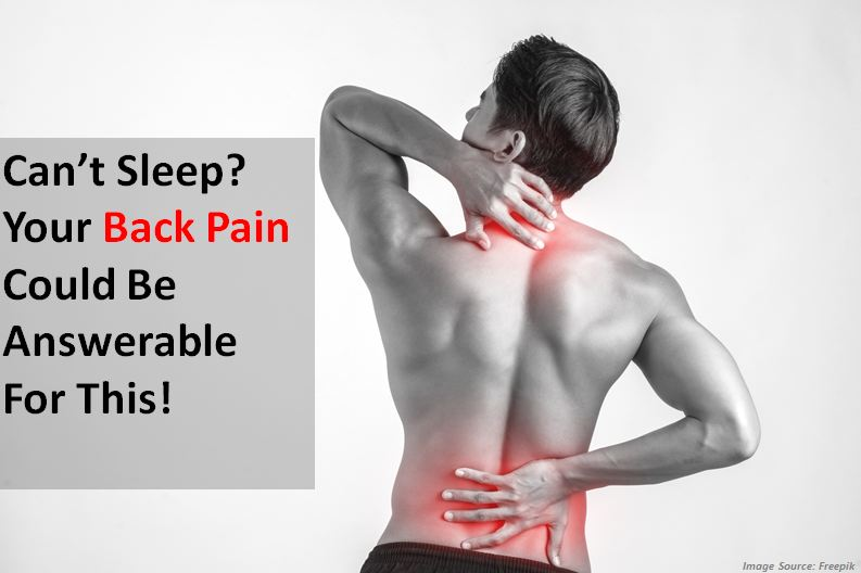 Your Back Pain Could Be Answerable